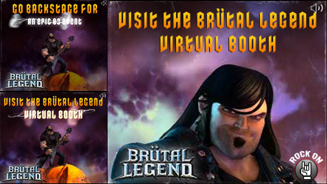 Brutal Legend storyboard for Flash Rich Media banner