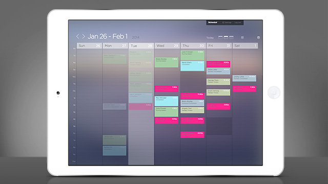 Schedulr - Original Software Design by Michael Squibb