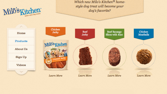 Michael Squibb / Milo\'s Kitchen Website ::.